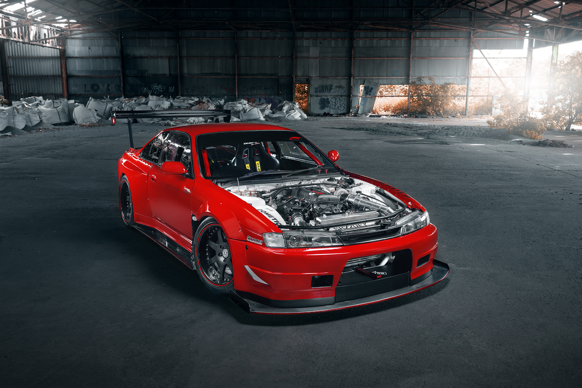 nissan silvia s14 after
