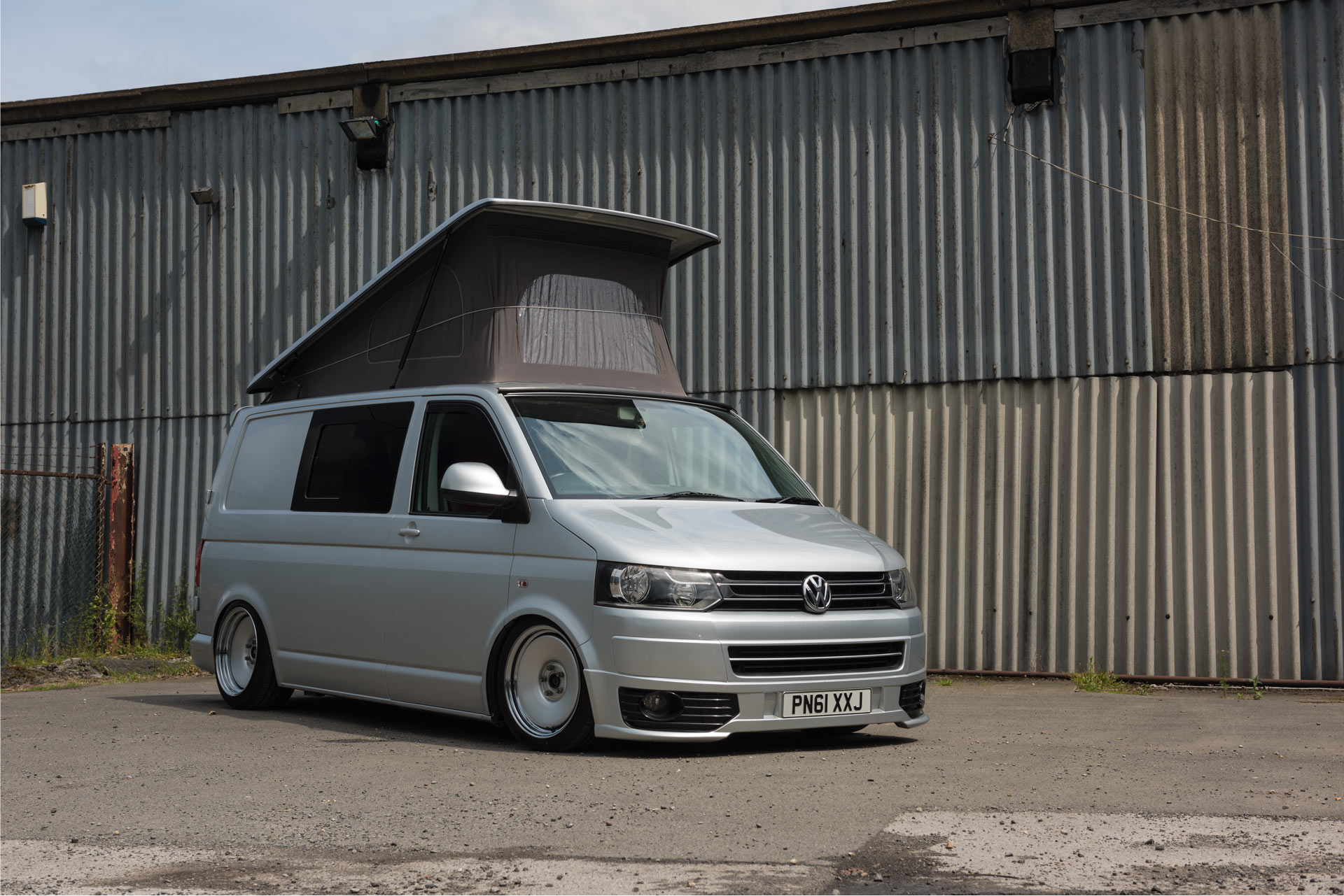 silver vw transporter before wipdesigns photographer