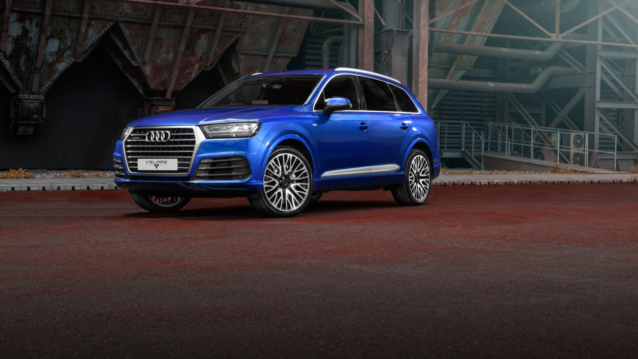 Audi Q7 Blue 2018 Wipdesigns Automotive Photographer 1
