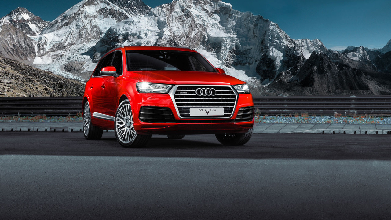 Audi Q7 Red 2018 Wipdesigns Automotive Photographer 2