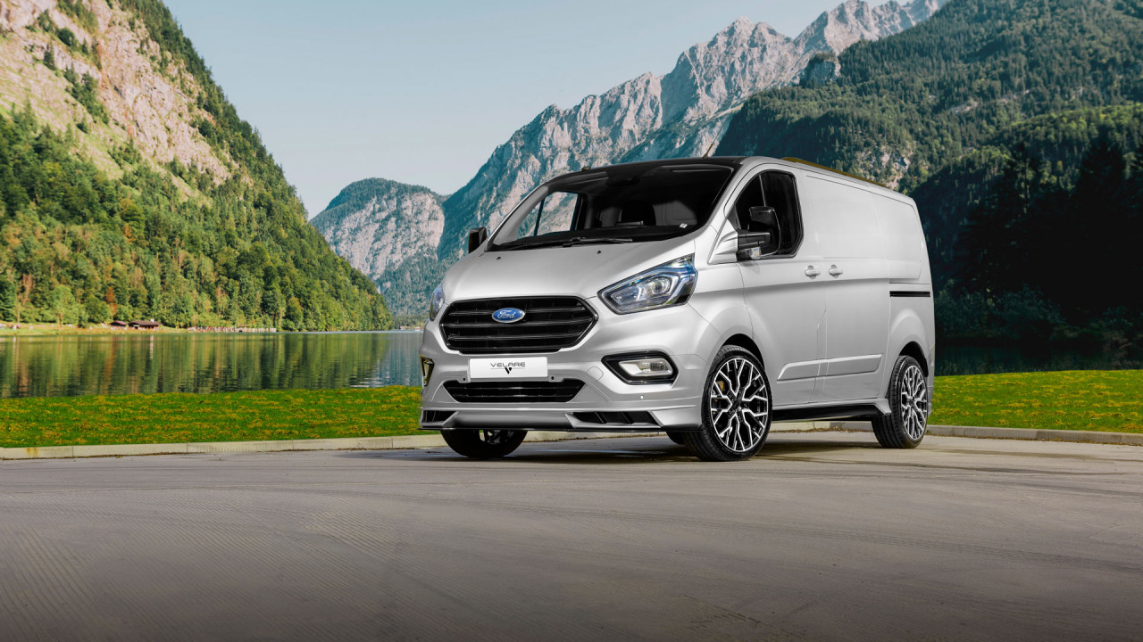 velare wheels ford transit silver wipdesigns commercial car photographer