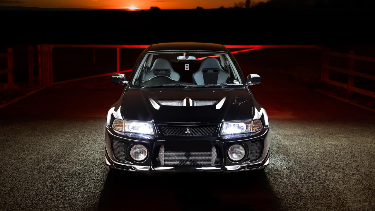 wipdesigns automotive photographer sheffield mitsubishi evo 5 2