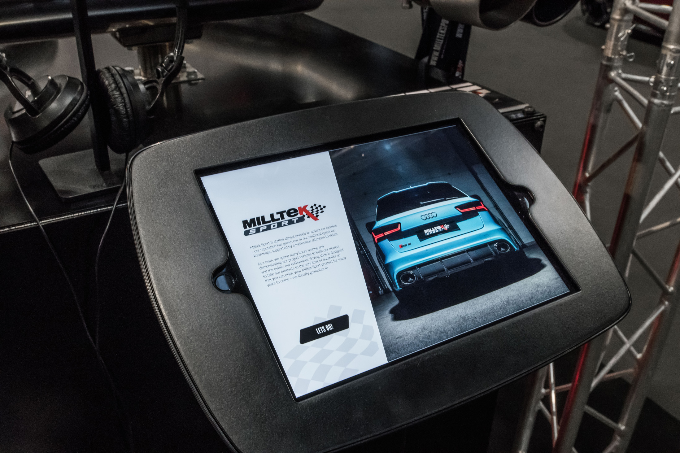 Milltek Sport App Development 7
