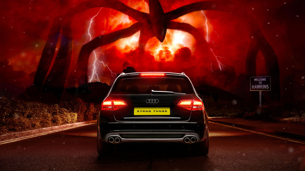 audi stranger things 4 four after