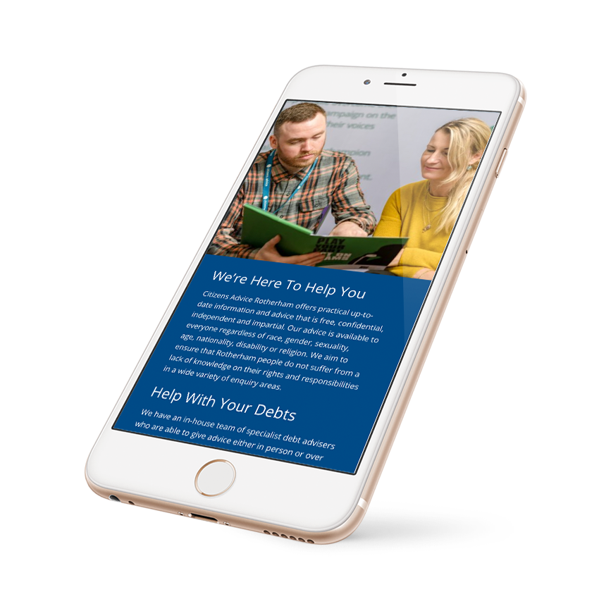 Iphone Responsive Citizens Advice