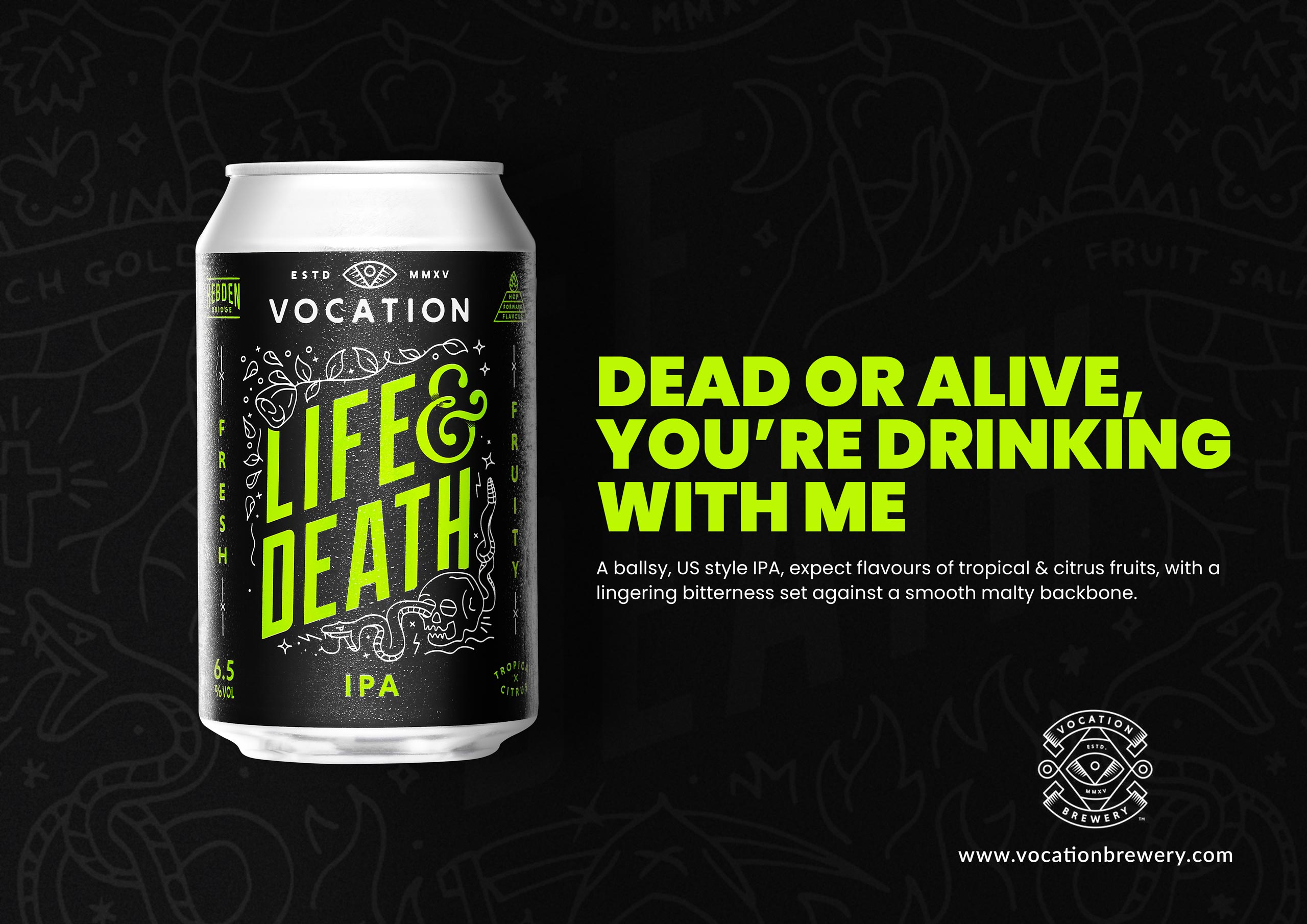 Life and Death Advert Alternative