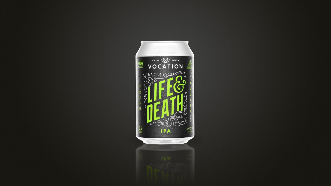 Vocation Brewery Product Photography 2