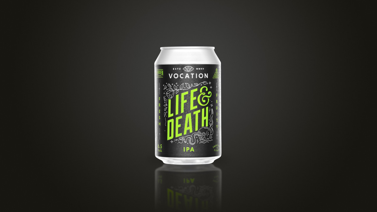Life and Death Black scaled