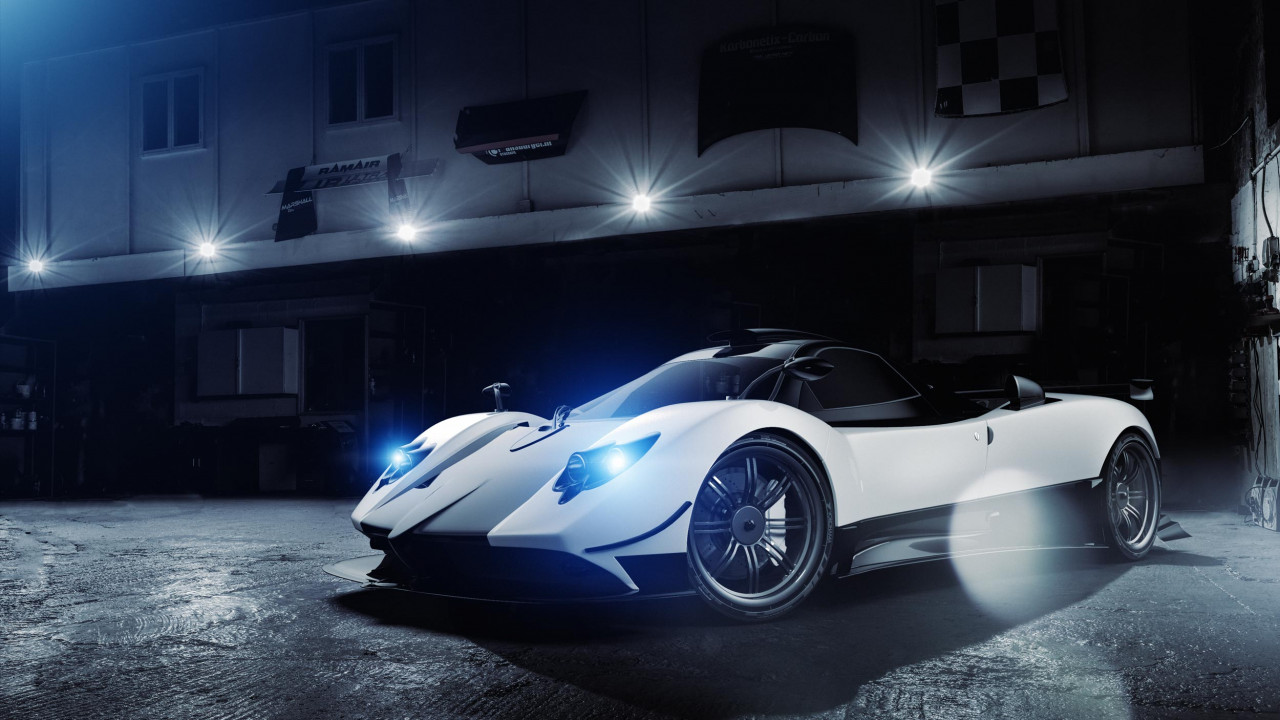 Wipdesigns Automotive Photographer UK Pagani Zonda Cinque 2