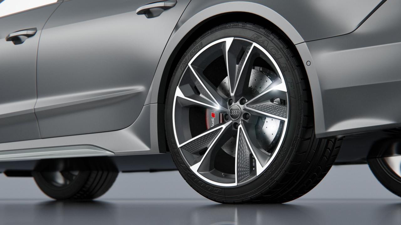 Audi RS7 Sportback 2020 2 3D Product Visualisation UK
