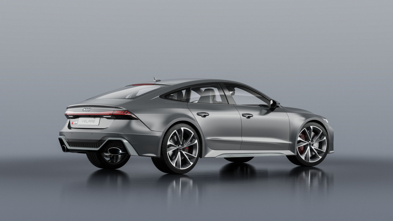 Audi RS7 Sportback 2020 3 3D Product Visualisation UK