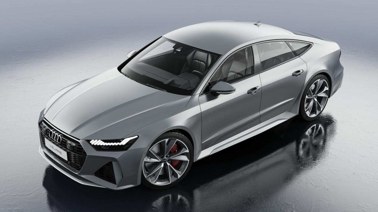 Audi RS7 Sportback 2020 3D Product Visualisation UK