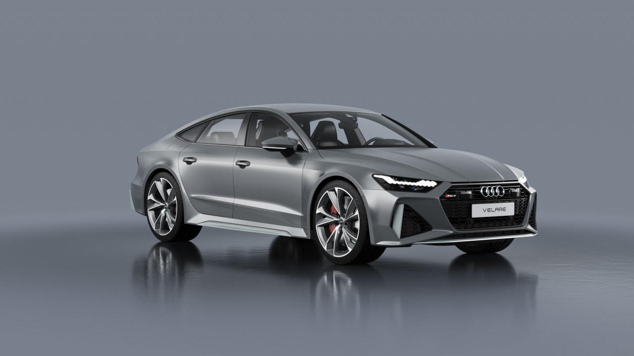 Audi RS7 Sportback 2020 5 3D Product Visualisation UK