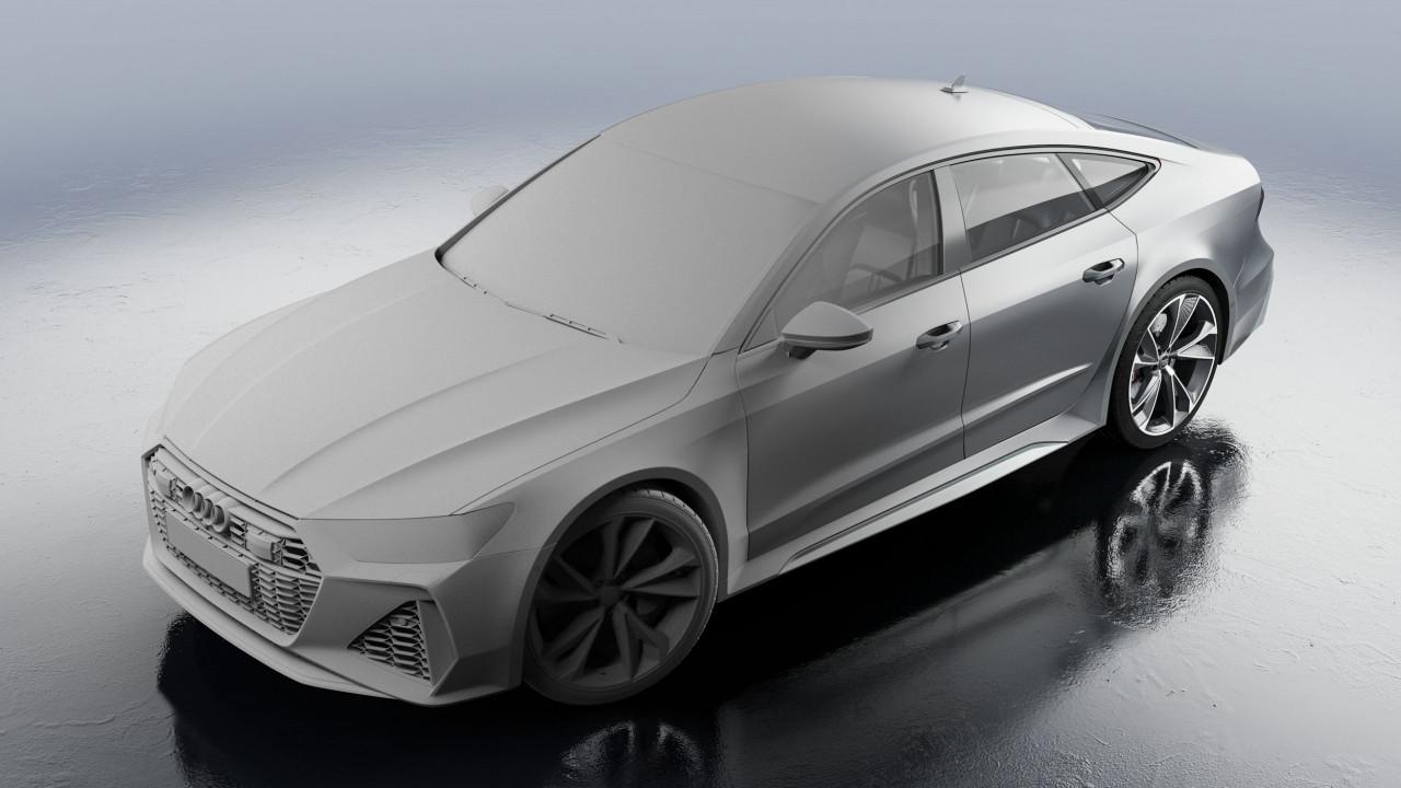 Audi RS7 Sportback 2020 Matt