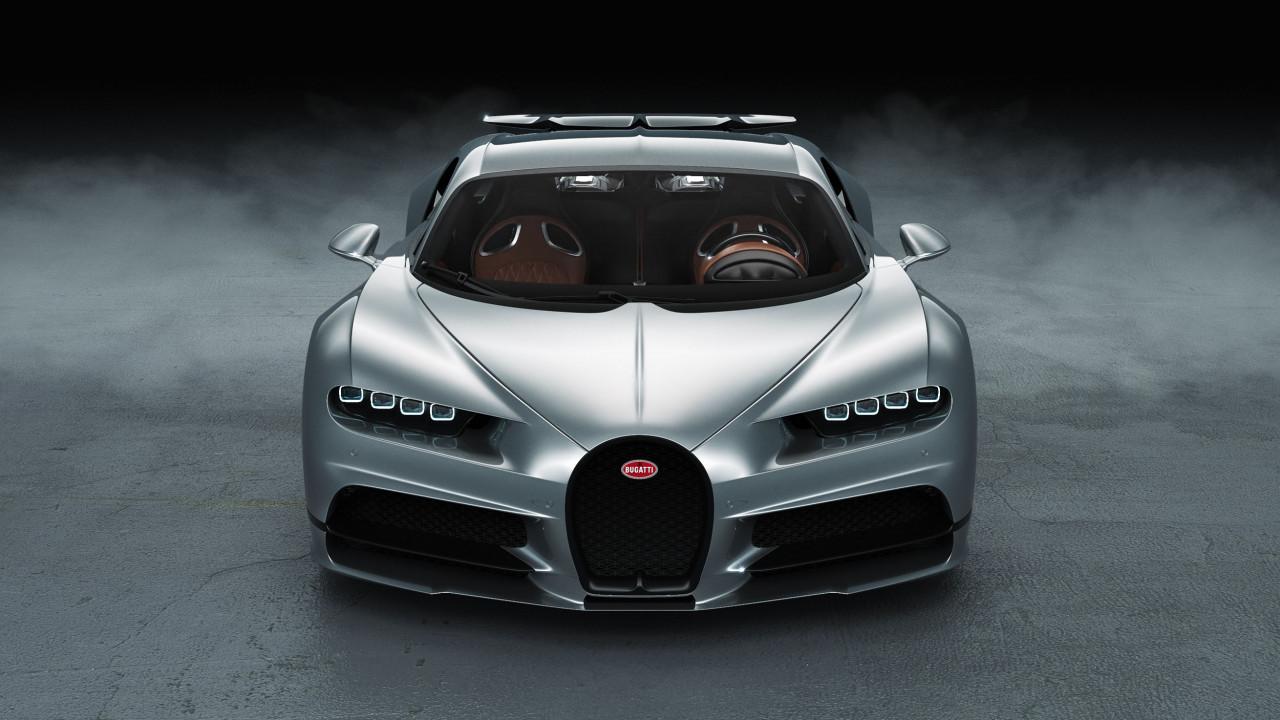 Bugatti Chiron Front