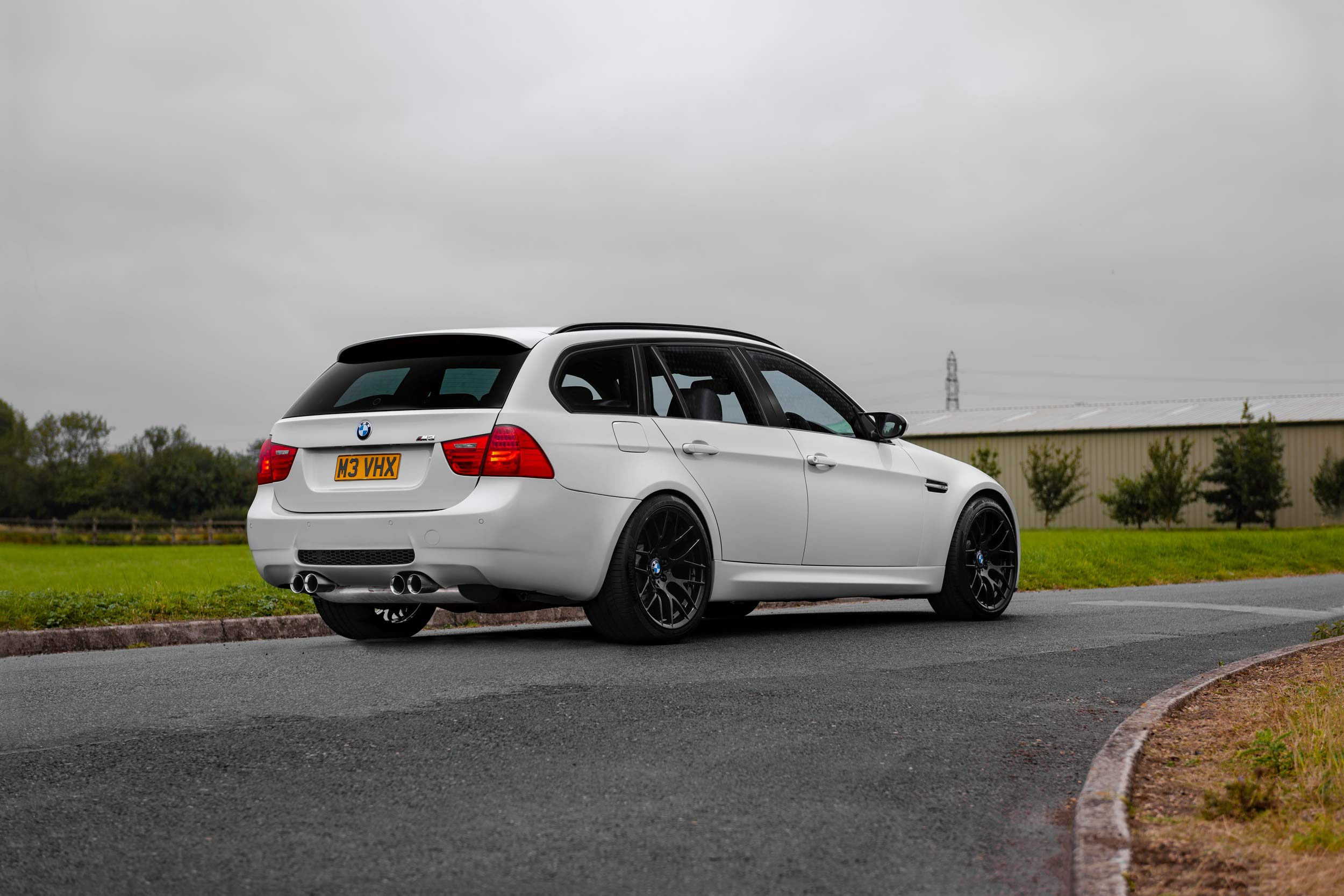 Wipdesigns Automotive Photographer BMW M3 Touring Rear Right After