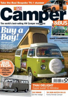 Camper and Bus Magazine Cover April 2021