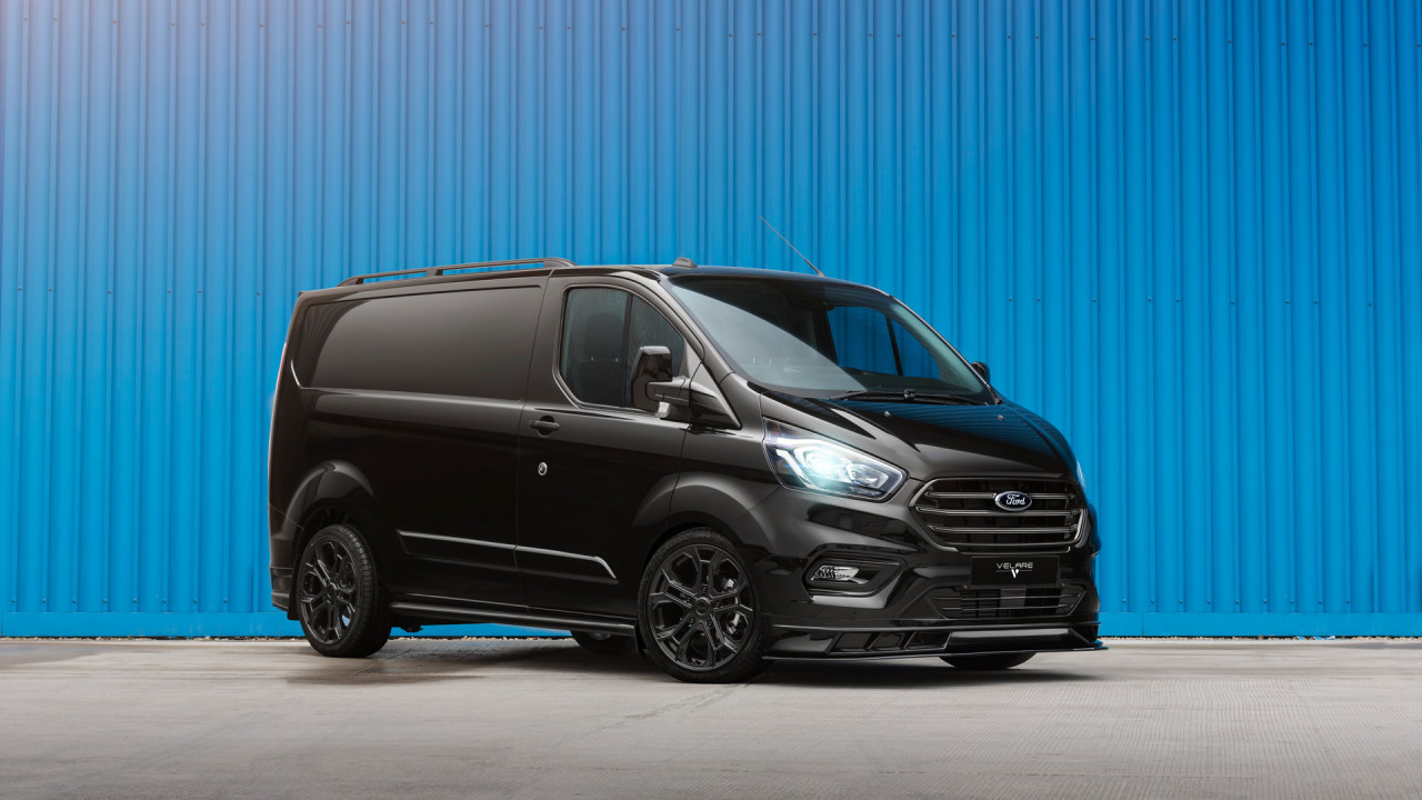Ford Transit Front Right VLR ST Diamond Black 4 copy