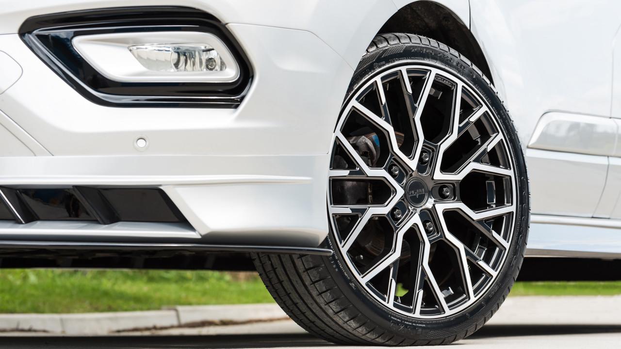 Ford Transit Velare Wheels VLR T Diamond Black Machined Face 16