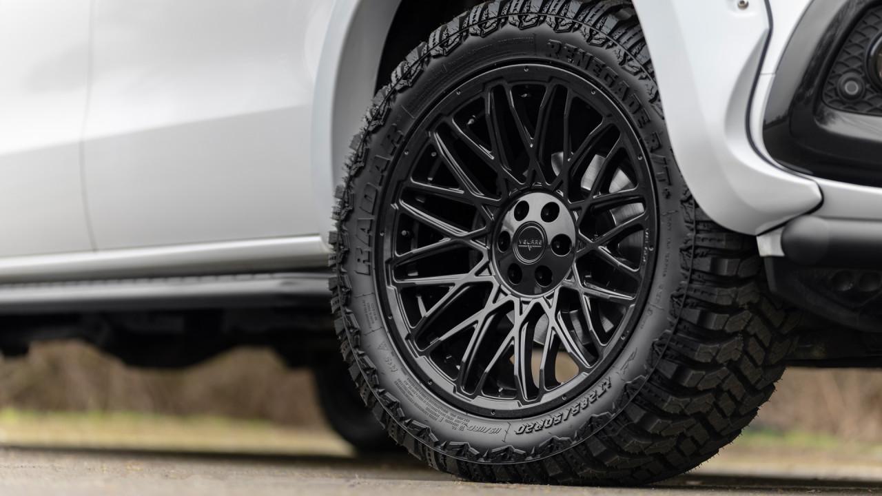 Mercedes X Class Velare VLR AT1 Diamond Black 26