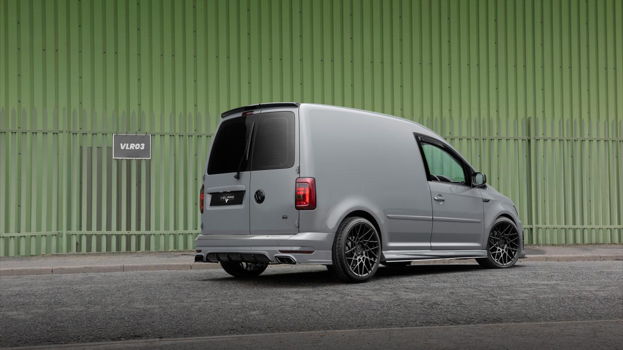 Velare Wheel VLR03 Diamond Black VW Caddy Rear Right 1