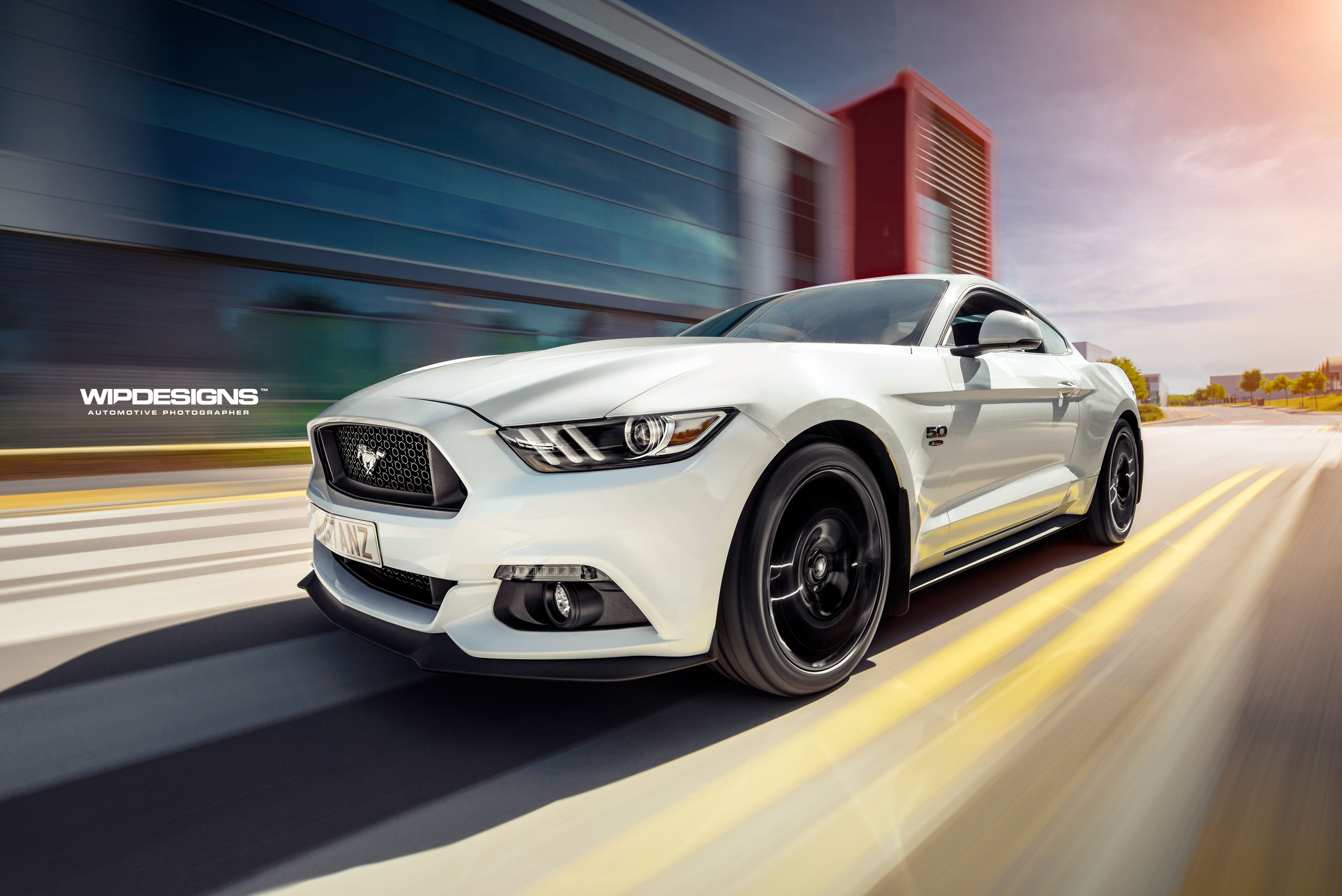 mustang wipdesigns automotive photographer sheffield